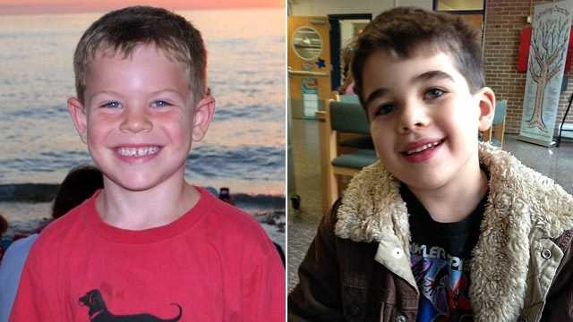 Jack Pinto, left, and Noah Pozner were two of the 26 killed, Dec. 14, 2012 during a school shooting at Sandy Hook School in Newtown, Conn