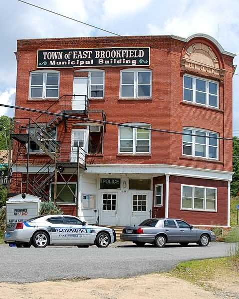 #9 East Brookfield: 275 large capacity firearm licenses are issued to residents or 12.55% of the population, according to the Massachusetts Executive Office of Public Safety.