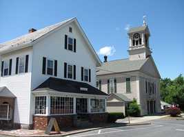 #57 Lunenburg: 776 large capacity firearm licenses are issued to residents or 7.69% of the population, according to the Massachusetts Executive Office of Public Safety.