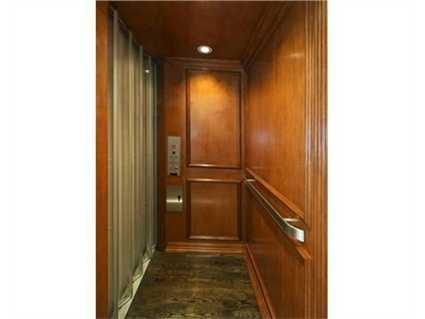 Your private elevator.