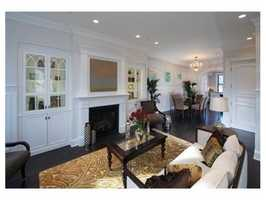 The home has 3,184 square feet of living space.