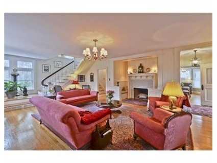 An elegant living room.