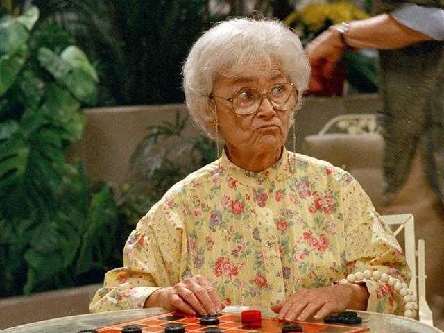 "Dorothy's second favorite show is ""Golden Girls."""