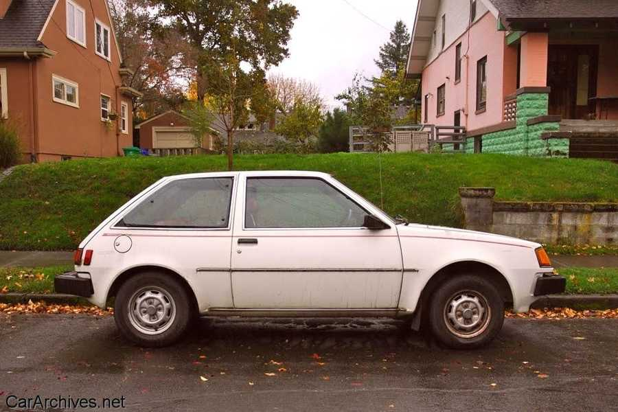 """Dorothy's first car was a 1983 Plymouth Colt named """"Snowflake."""""""