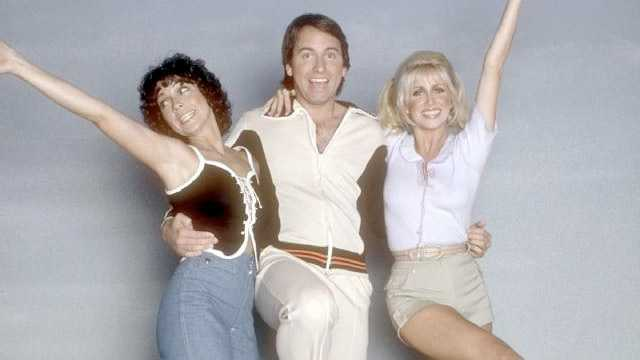 """Dorothy says her favorite TV show of all time is """"Three's Company"""""""