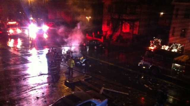 Malden crash