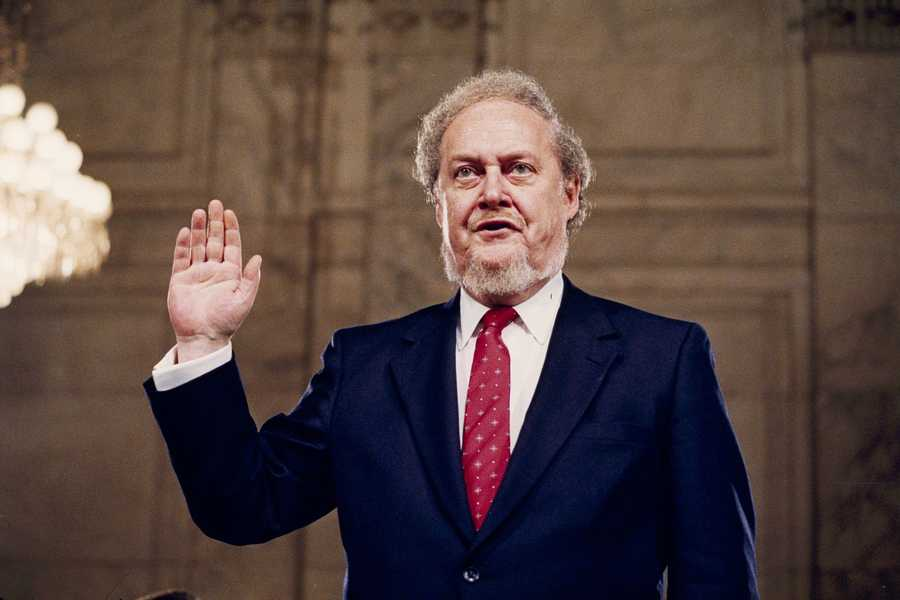 Robert H. Bork was the man who stepped in to fire the Watergate prosecutor at Richard Nixon's behest and whose failed 1980s nomination to the Supreme Court helped draw the modern boundaries of cultural fights over abortion, civil rights and other issues. (March 1, 1927 - December 19, 2012)
