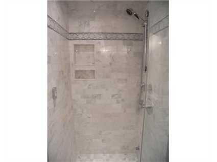A spa-like shower.