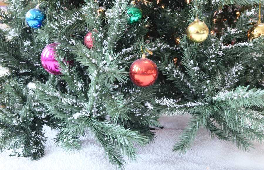 Skip the tinsel altogether and keep ornaments beyond the reach of prying paws.