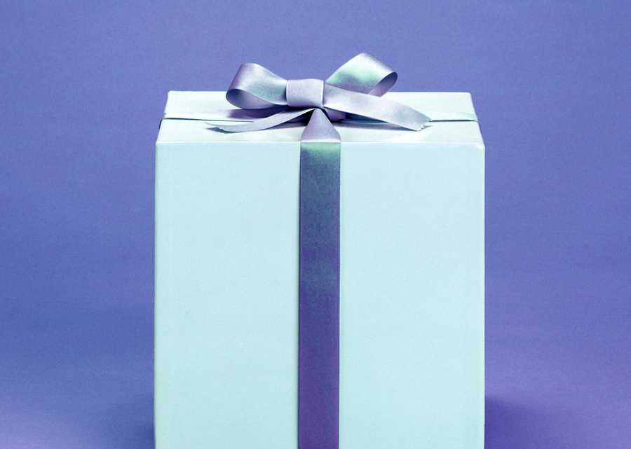 And once you're done wrapping the gifts, be sure to put the paper and ribbon back in a closet or pet-proof container.
