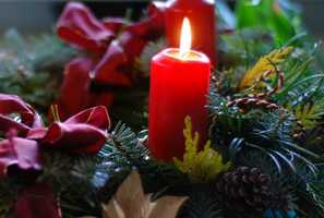 Keep candles out of pets' range, and never leave them burning unattended.