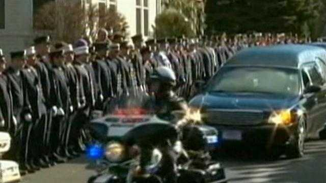 Funerals become sad routine in Newtown