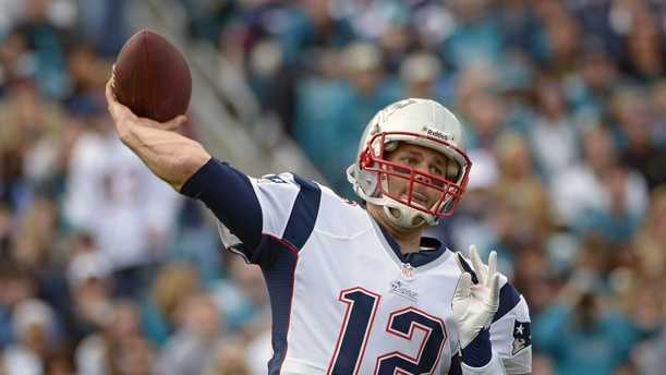 New England Patriots quarterback Tom Brady throws a pass against the Jacksonville Jaguars during the first half of an NFL football game, Sunday, Dec. 23, 2012, in Jacksonville, Fla.