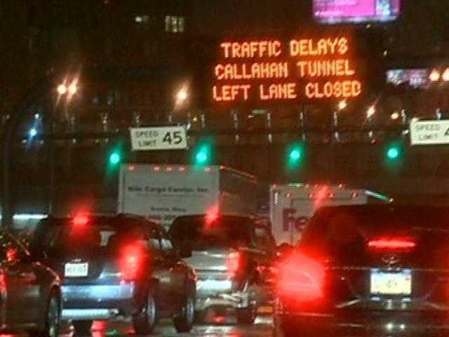 The Callahan Tunnel in Boston has reopened after all 2,800 metal wall panels were checked because one of them fell onto the roadway.