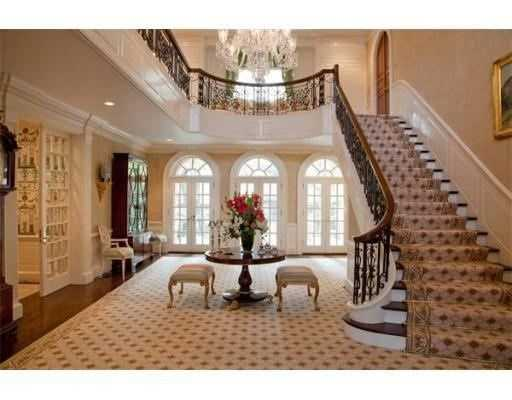 A magnificent 10,000+ square foot brick residence decorated by nationally awarded designers.