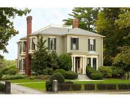 The home is located at350 Main Street in Concord, Mass.