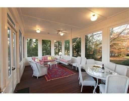 Professional landscape design with a terrace,