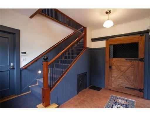 The home has arenovated carriage house with an office.