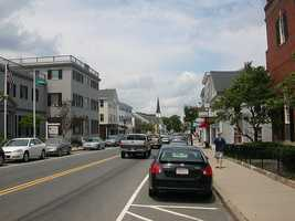 #56 White Island Shores section of Plymouth -- 40.20% of the babies born in 2011 were to unmarried mothers.