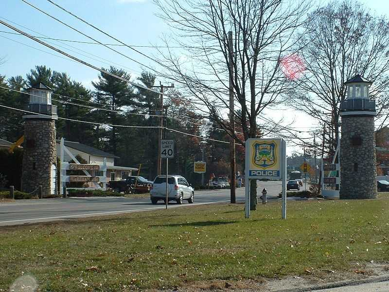 #36 (tie) Weweantic section of Wareham. 14.9 percent of residents list themselves as divorced according to data released by the U.S. Census bureau in December 2012