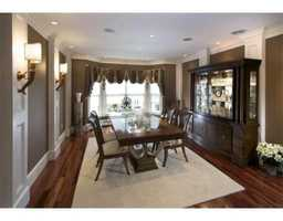 There are hardwood floors throughout