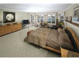 Master suite with spa, dressing room and massage/exercise room.