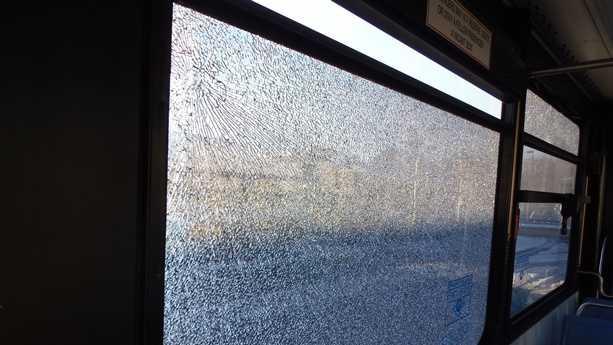 MBTA bus shot