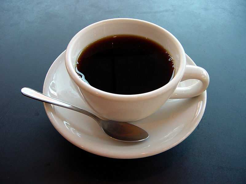 6.) Black Coffee