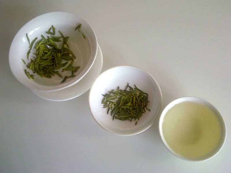 9.) Green tea