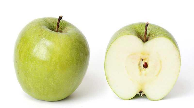 1.) Green Apples
