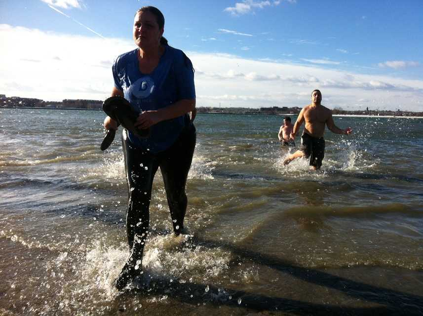 The L Street Brownies have been holding the polar plunge for nearly a century