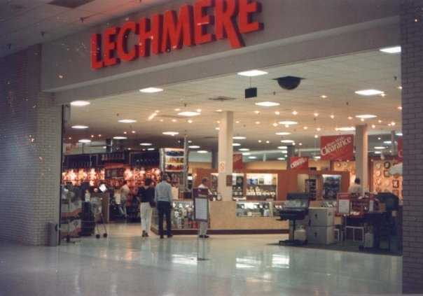 Lechmere was a New England retail store that closed in 1997.