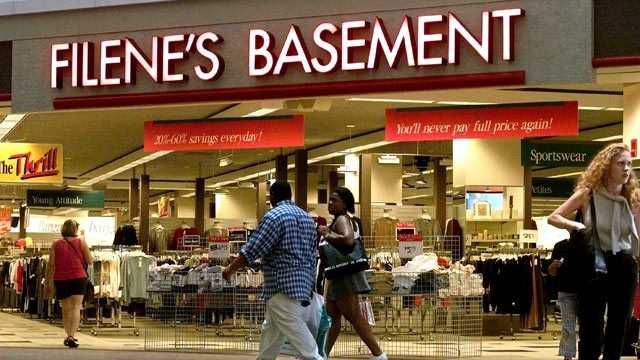 The last Filene's Basement stores closed permanently on December 29, 2011.