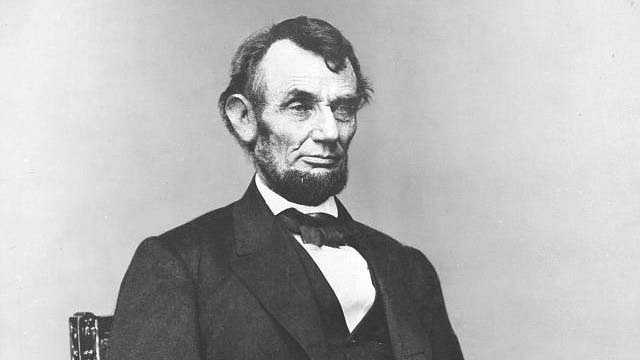 If he could interview anyone past or present, Ed says he'd love to sit down with President Abraham Lincoln.