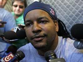 "Ed's favorite Boston athlete is former Sox slugger Manny Ramirez.""Best hitter I've ever seen,"" Ed says."