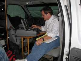 Ed, seen here working during the 2007 World Series in Denver, says he was most influenced by his father.
