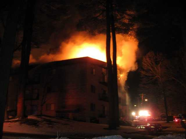 The American Red Cross said it understood 25 to 30 residents were affected by the two-alarm fire.