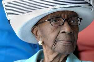 Mamie Rearden of Edgefield, S.C., held the title as the country's oldest person for about two weeks when she died at age 114. (Sept. 7, 1898 - Jan. 5. 2013)