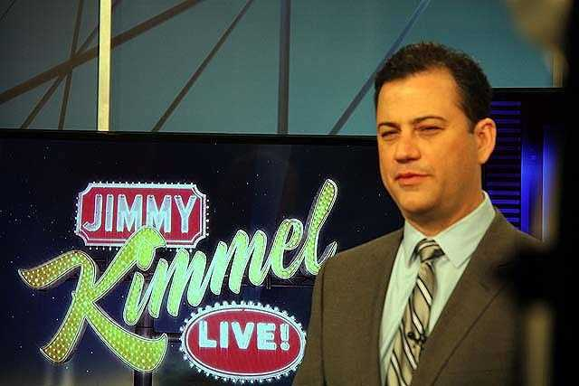 Jimmy Kimmel moved to Las Vegas, NV when he was nine years old with his parents, brother and sister.