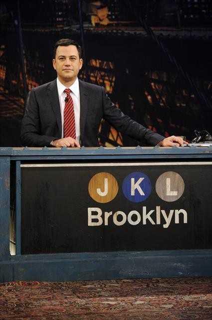 Jimmy Kimmel has a treadmill desk in his office.