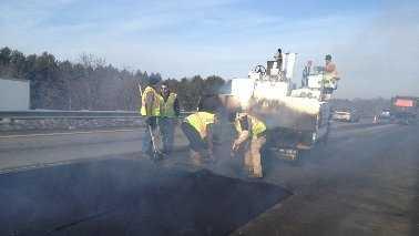 New Hampshire Highway repair
