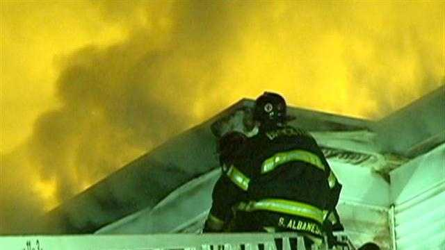 16 residents, puppies escape overnight fire