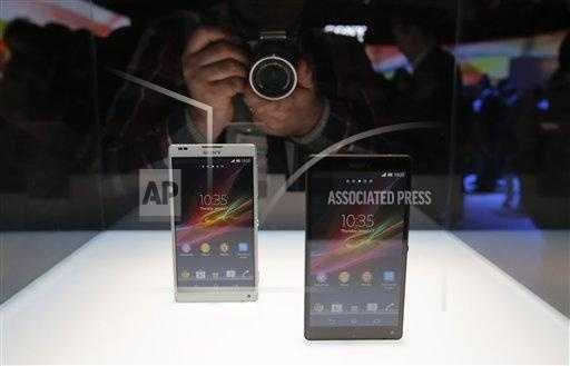Sony's new Xperia Z smartphones are unveiled.