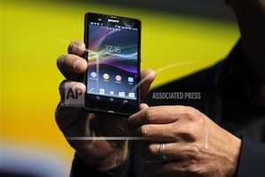 Phil Molyneux, President and CEO of Sony Electronics, introduces the new Xperia Z smartphone.