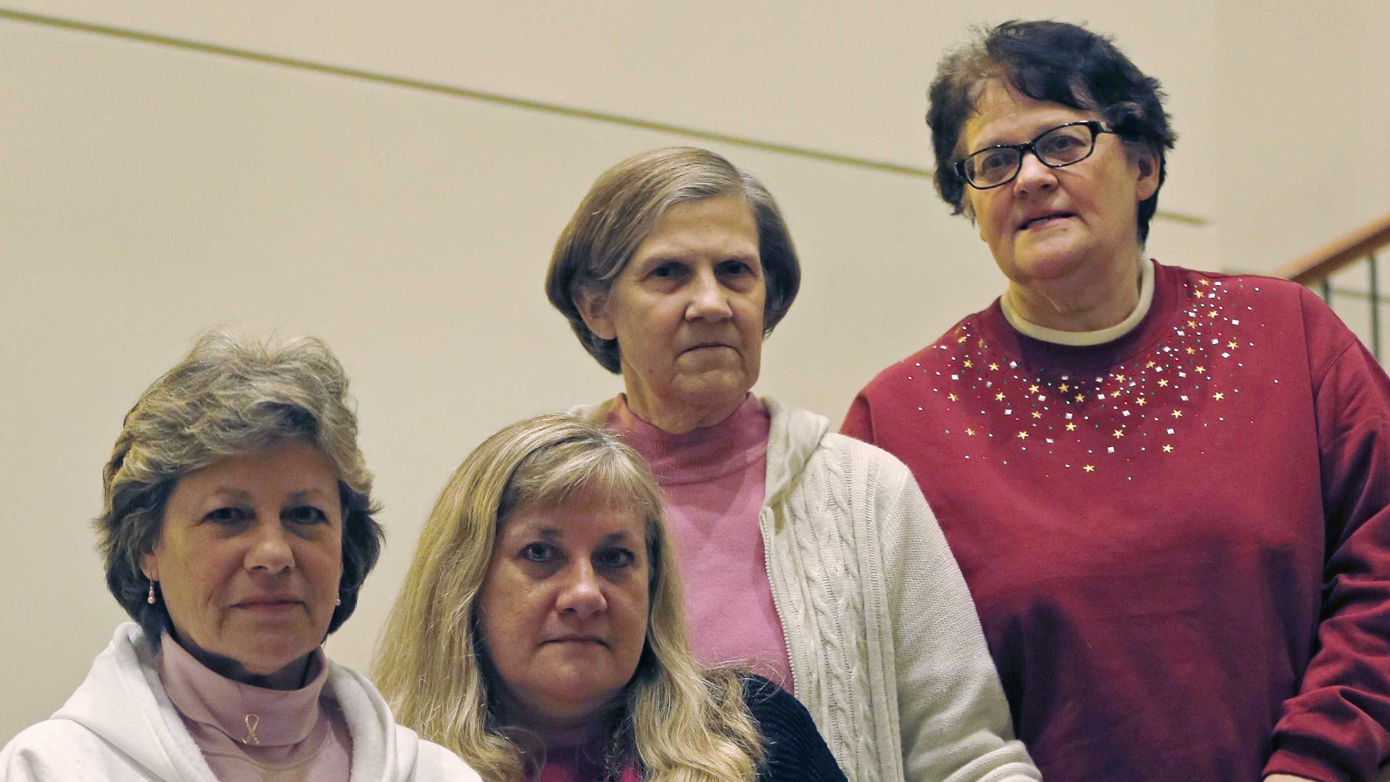 The Melnick sisters. From left are Michele Fecho, Francine Melnick, Donna McNeely, Andrea Andrews.
