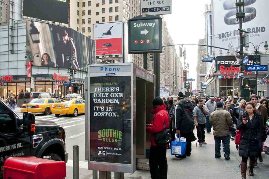 """The A&E network has begun promotion in New York City for its upcoming reality show """"Southie Rules."""""""