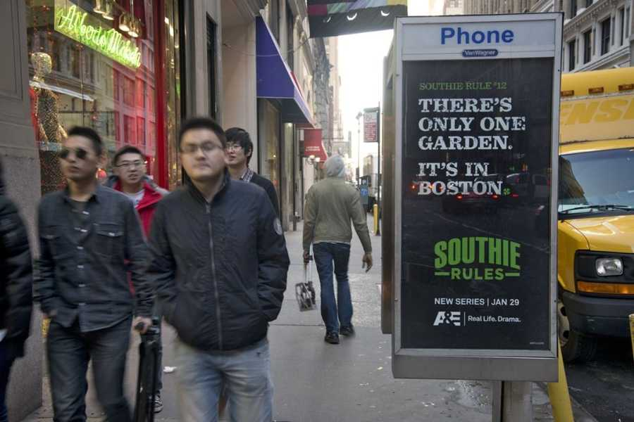 The street promotional campaign is only in New York City for now.
