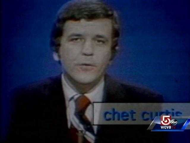 Chet Curtis, early on in his career at NewsCenter 5.