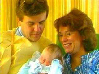When Chet and Natalie's daughter Lindsay was born in 1981, they received some 5,000 cards from viewers.