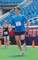 """""""Since I run a lot, music is a huge part of my running,"""" David says."""